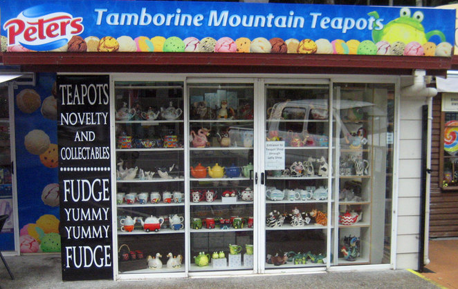 Country towns often have many quirky shops