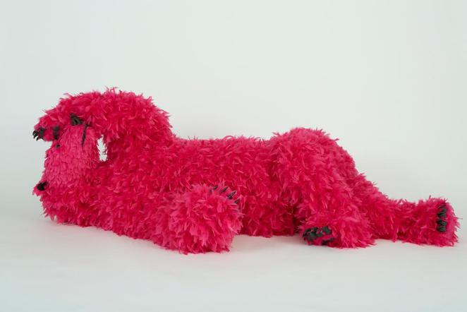 NGV, National Gallery of Victoria, art exhibition, free, Melbourne, Paola Pivi, You started it... I finish it, bears, neon