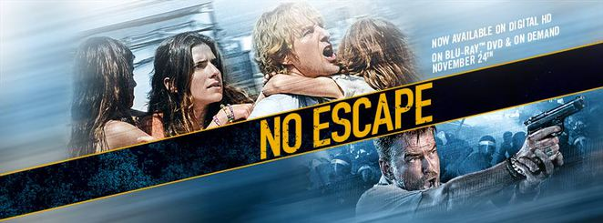 no escape, film review, cambodia, action, movie, movie review