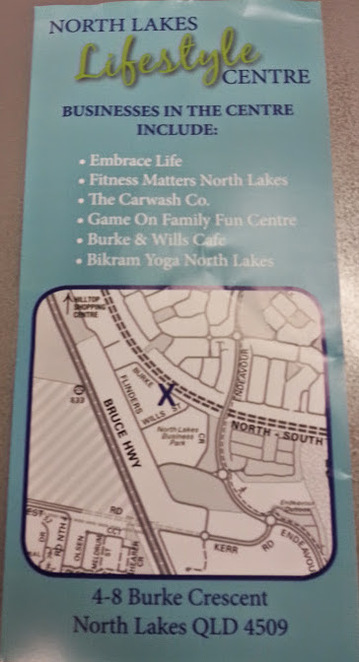 North Lakes, Lifestyle, Fitness, Yoga, chiropractor, Cafe