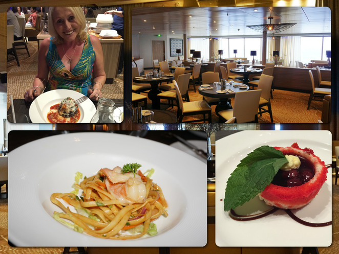 Pacific Eden - P&O Cruises, Waterfront Restaurant