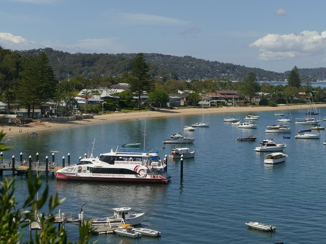 Palm Beach Ferry Service Fantasea Cruising Palm Beach Pittwater Northern Beaches Sydney NSW
