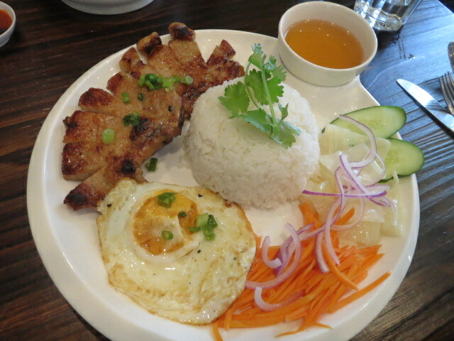 Pork Chop with Rice, The 3 Viets, Adelaide