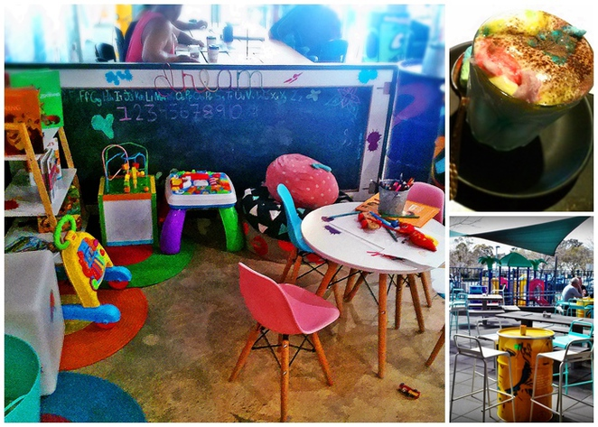 public place, chisolhm, canberra, cafes with kids corner, colouring in, ACT, children, kids, family friendly, ACT