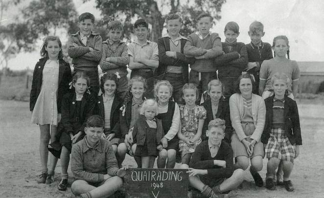 Quairading District High School, class of 1948