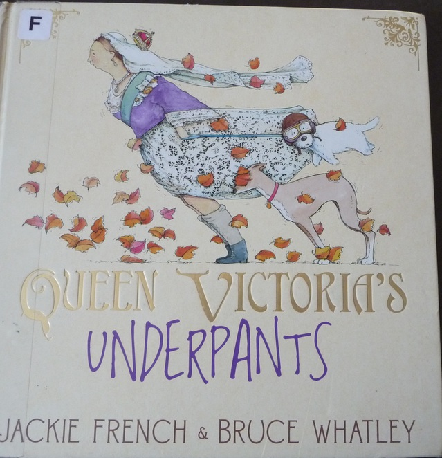 Queen Victoria's Underpants, books about underpants,
