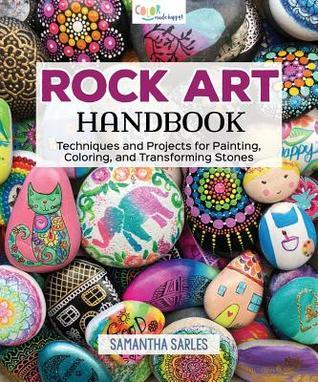 rock art, rock painting, rock dropping, rock art handbook, painting on rocks, rock art techniques