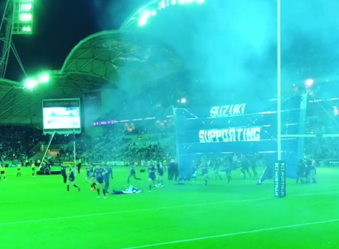 Soccer, rugby, aami park