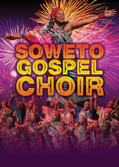 Soweto Gospel Choir, energetic, acclaimed as one of the worlds best vocal ensembles