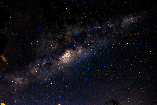 stars, night sky, milky way, earth hour, photography, May Cross