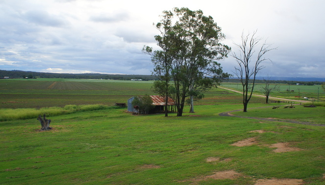 The view from Stockton Rise Country Retreat