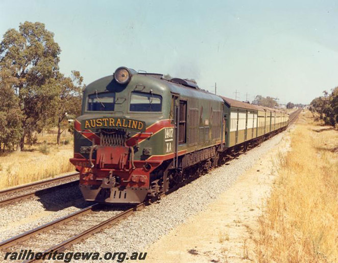 The Australind Goes Platinum at the South West Rail and Heritage Centre