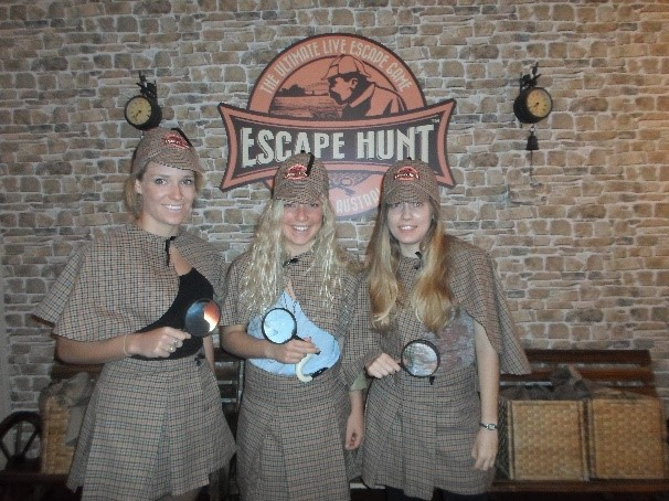 the escape hunt, escape hunt sydney, escape hunt experience