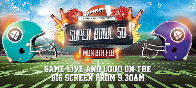 The Fox Hotel, Superbowl 2016, where to see the superbowl brisbane, super bowl brisbane, watch super bowl brisbane