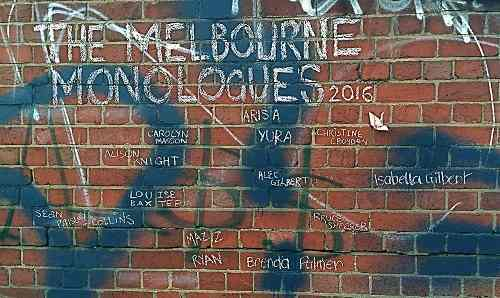 The Melbourne Monologues 2016
