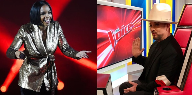 The Voice new coaches
