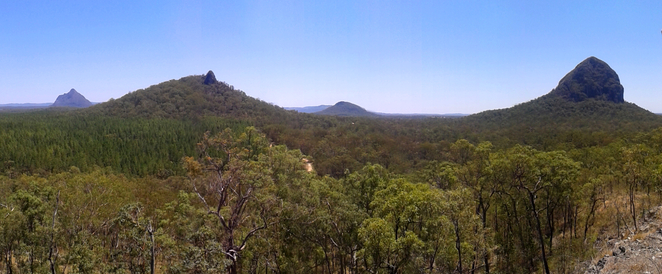 The view from the Jack Ferris Lookout on the Trachyte Circuit