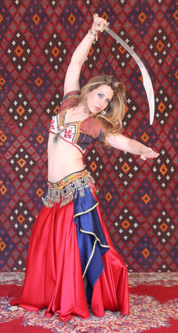 ulah, belly dance, children birthday