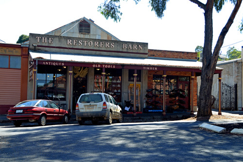 Victoria Castlemaine Goldfields Antiques Collectibles Relics History Historic
