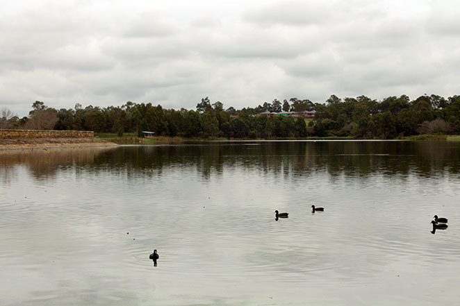Walka water works lake