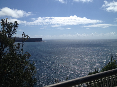 water, ocean, cliff, heads, sydney