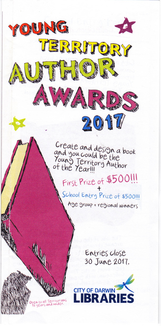 writing competition, Northern Territory, young writer, 18 years old