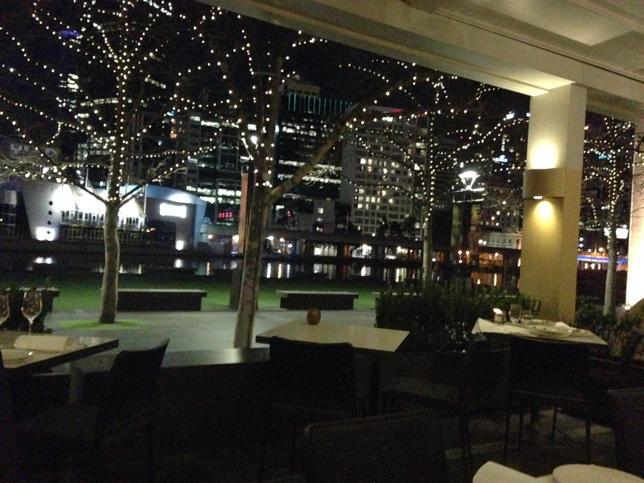 Yarra River No8 John Lawson romantic view restaurant dining
