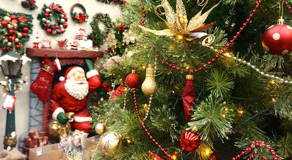 The Christmas Warehouse: Discounted Trees, Lights, Decorations, Ornaments & More