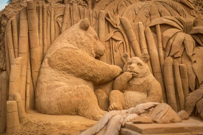 A Day at the Zoo Sand Sculpture Exhibition