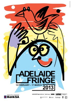 Adelaide Fringe poster, Garden of Unearthly Delights