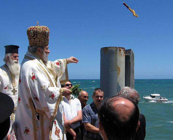 Adelaide, Greek, Festival, Religion, Glenelg, Blessing of the Waters