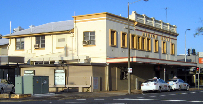 The suburb of Albion is named after the Albion Hotel