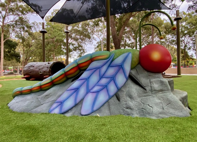 Have you ever wanted to slide down a dragonfly's wings?