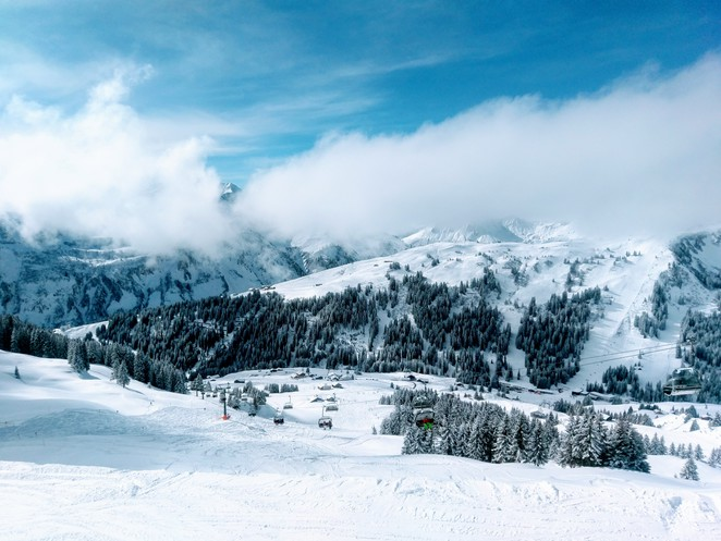 Austrian Alps, Snow, Ski