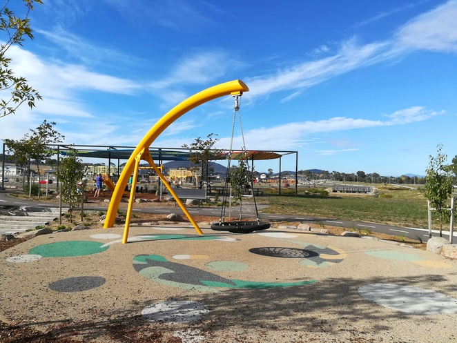 bettong avenue, throsby playground, gungahlin, canberra, ACT, best playgrounds, new playgrounds, new suburbs, estate, new, kids, families, school holidays,