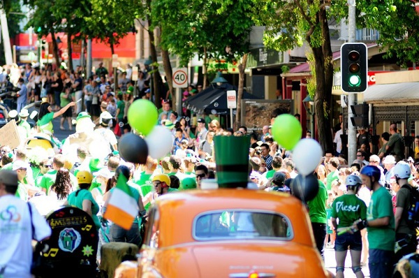 brisbane irish festival, st patricks day parade, queensland irish festival