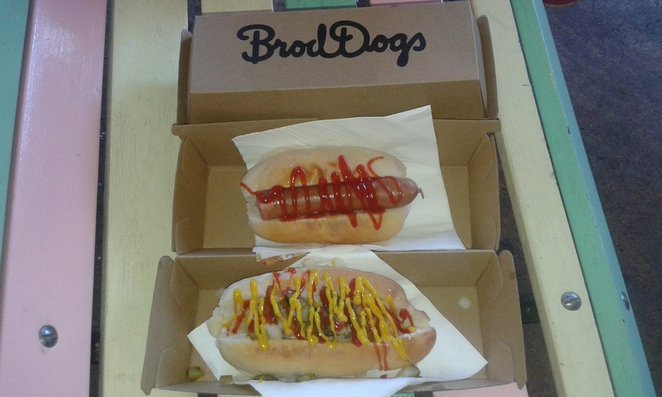 Brod dogs, Lonsdale street, canberra