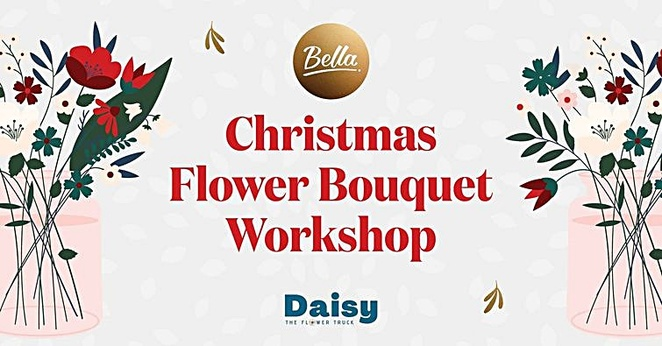 Christmas Flower Bouquet Workshop, Bella Vista Hotel