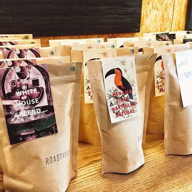 Coffee beans Roastville Marrickville Sydney public cupping