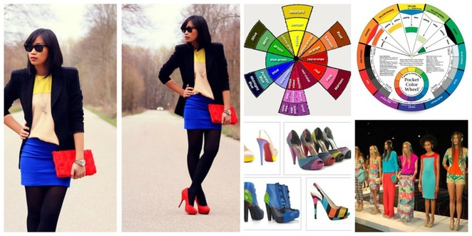 colour wheel fashion
