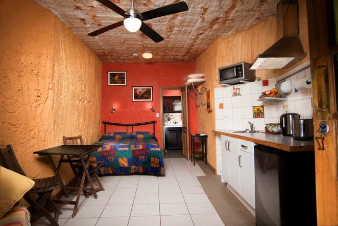 Coober Pedy, Underground Motel, underground accommodation, hotels South Australia, outback luxury, opal mining, dugouts