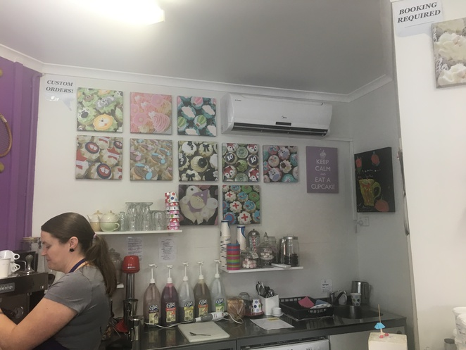 cupcake taste, espresso bar, graceville, cupcake, dessert, sweets, dog friendly, dog treats, gnomes, homemade, custom made cupcakes, southern suburbs, western suburbs, brisbane, oxley, chelmer, cafe