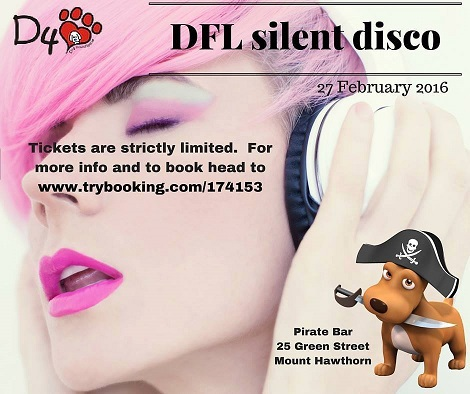 DFL Dog Rescue Silent Disco