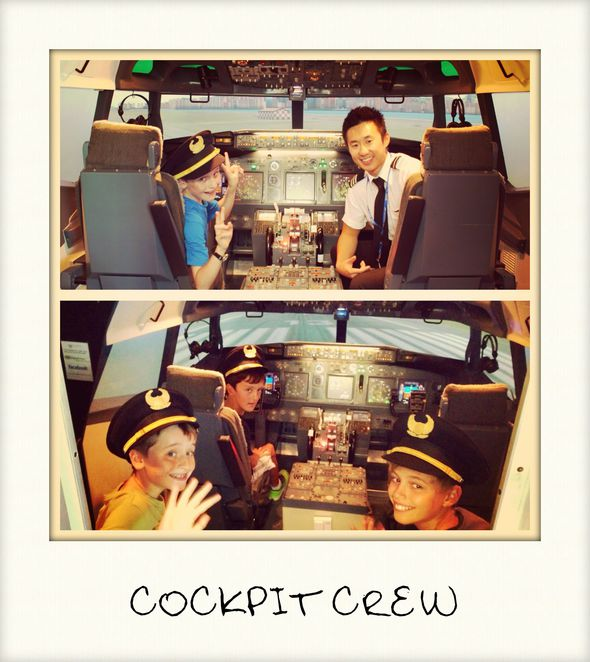 flight experience simulator kids party fun learning sydney