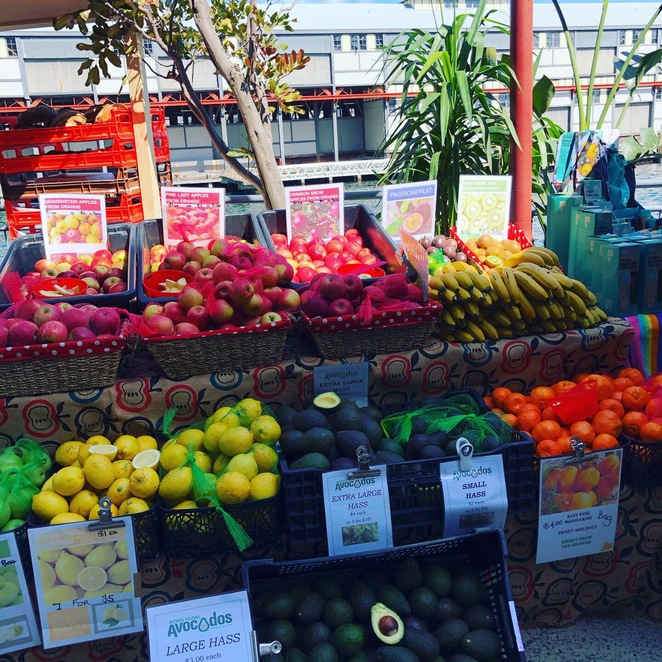 Fruit vegetables Santa Monica Pier One Sydney Farmers Markets