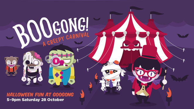 googong, halloween, 2017, ACT, boogong, halloween events for kids,