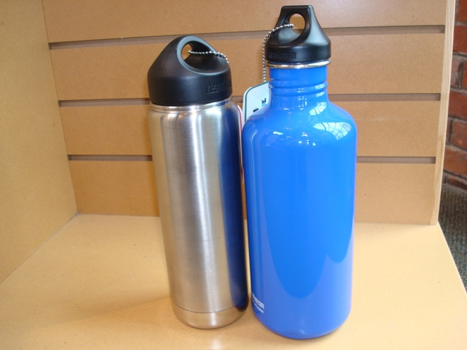 Metal water bottles are ideal for hiking (Courtesy of Wikimedia)