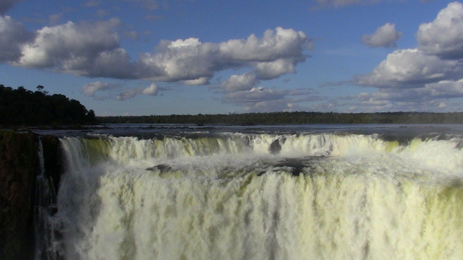 iguazu falls, the devil's throat
