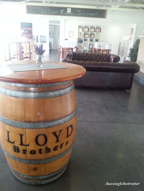Lloyd Brothers, Adelaide, McLaren Vale, Wineryd