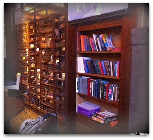 Mail Exchange Hotel, historic, book shelves